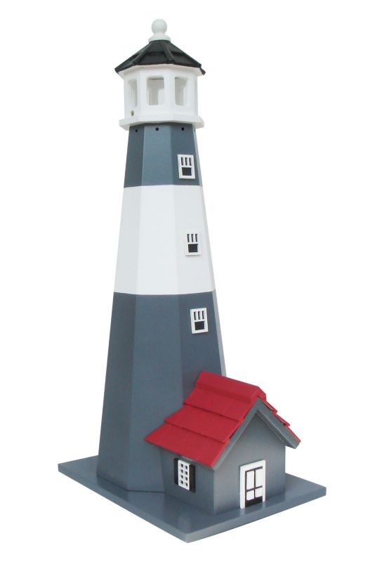 Home Bazaar Tybee Lighthouse Bird House (HOME BAZAAR INC HB-9202S 812673014037 Wild Bird Supplies Bird Houses) photo