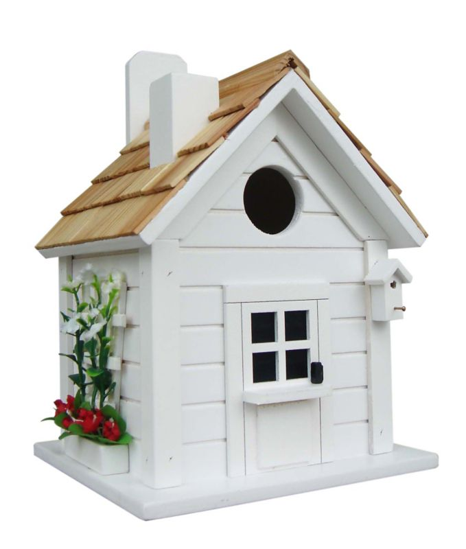 Home Bazaar Trellis Cottage Bird House (HOME BAZAAR INC HB-7304S 812673013979 Wild Bird Supplies Bird Houses) photo