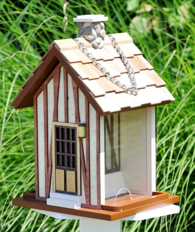 Home Bazaar Hamlet Bird Feeder (HOME BAZAAR INC HBK-1005S 812673013481 Wild Bird Supplies Bird Feeders) photo