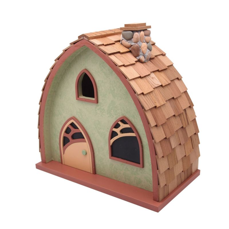 Home Bazaar The Cheshire Cottage Bird House (HOME BAZAAR INC HBK-1009S 812673014457 Wild Bird Supplies Bird Houses) photo
