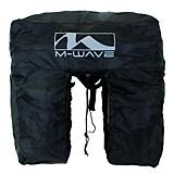 M Wave Amsterdam Rain Cover Black Universal Fit