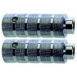 Novatec Steel Silver Pegs Chrome Universal Fit