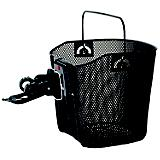 M Wave Quick Release Wire Basket Black