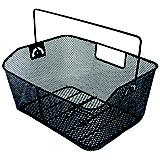 Ventura Wide Rear Wire Basket Black Universal Fit