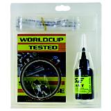 Eclipse World Cup Tubeless Kit Black Universal Fit