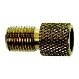 M Wave Presta Schrader Valve Adapter Brass