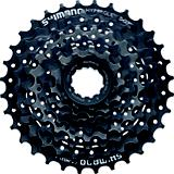 Shimano Cassette HG31 8 Speed Black/Brown