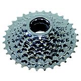 Ventura 8 Speed Silver Freewheel Silver