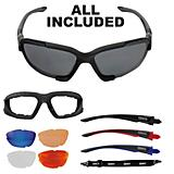 Mighty Z16 Winter And Bike Sport Sun Glasses Blk