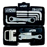 Super B Tool Set 24 In 1 Black Universal Fit
