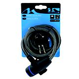 M Wave S Spiral Cable Lock Black Universal Fit