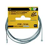 Tour De France Derailleur Cable Silver