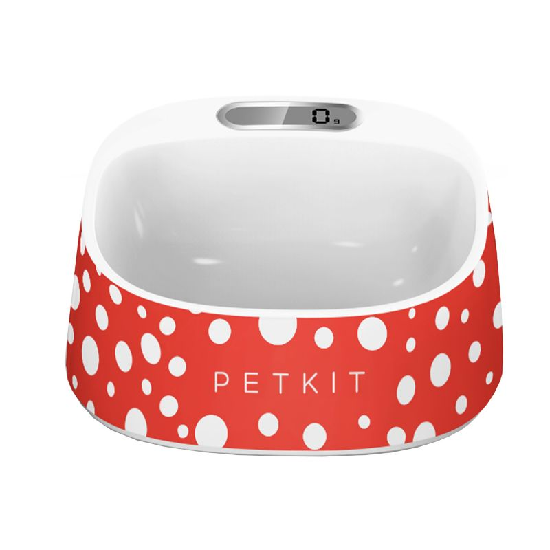 PETKIT FRESH Digital Pet Bowl Red-White (PET LIFE LLC SAB1RD 858342068055 Technology All Technology) photo