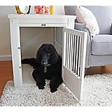 New Age Pet White Dog Crate w/ Metal Spindles