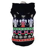 Pet Life LED Patterned Holiday Sweater Costume