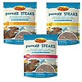 Zukes PureNZ Steaks Beef Dog Treat