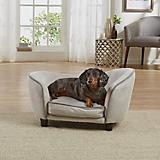 Enchanted Home Pet Grey Snuggle Dog Bed