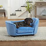 Enchanted Home Pet Light Blue Snuggle Dog Bed