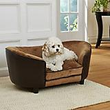 Enchanted Home Pet Hudson Pebble Brown Dog Bed