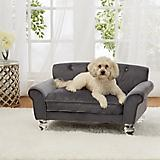 Enchanted Home Pet La Joie Grey Sofa Dog Bed