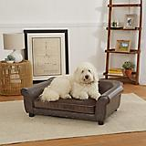 Enchanted Home Pet Spencer Brown Sofa Dog Bed
