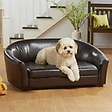 Enchanted Home Pet Dorchester Brown Sofa Dog Bed