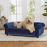 Enchanted Home Pet Manchester Navy Sofa Dog Bed