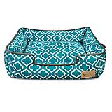 PLAY Moroccan Teal Lounge Dog Bed