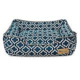 PLAY Moroccan Navy Lounge Dog Bed