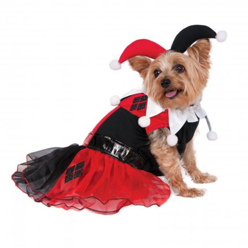 Image of Harley Quinn Tutu Pet Costume XLarge
