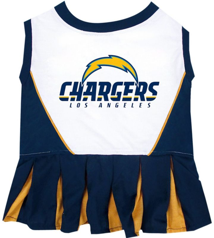 San Diego Chargers Cheerleader Costume: San Diego