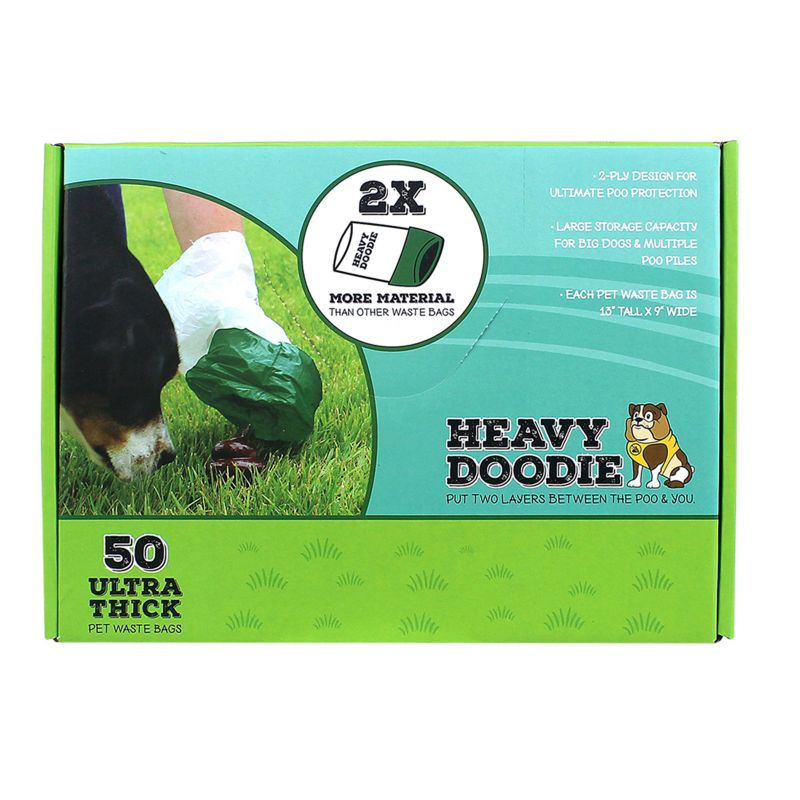Image of Heavy Doodie Ultra-Thick Dog Waste Bags 100ct