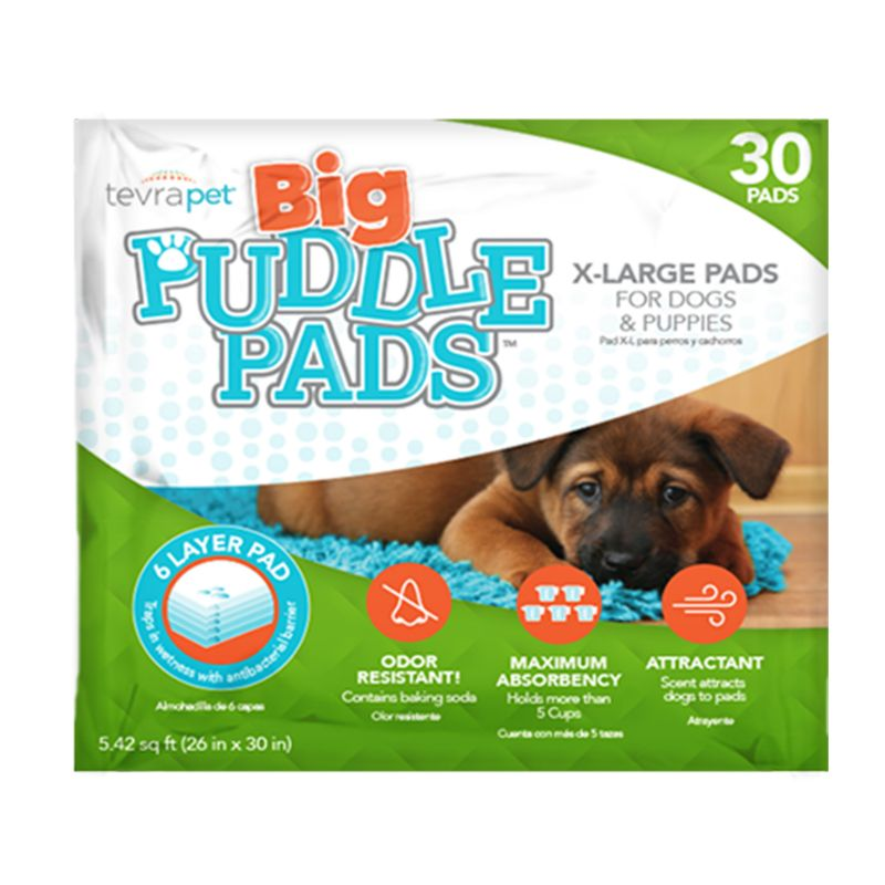 Image of TevraPet BIG Puddle Pads for Dogs 30ct