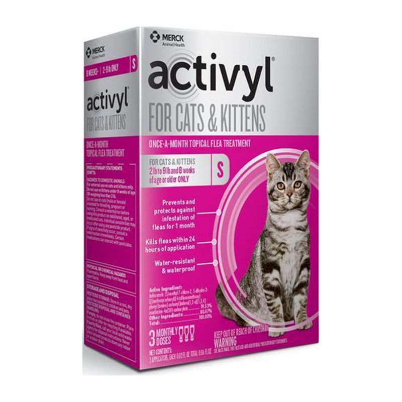 Image of Activyl for Cats and Kittens 2-9lbs 3 Pack
