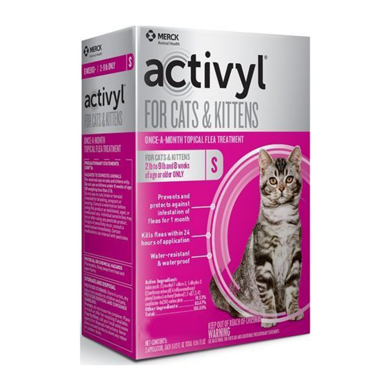 Image of Activyl for Cats and Kittens 2-9lbs 6 Pack