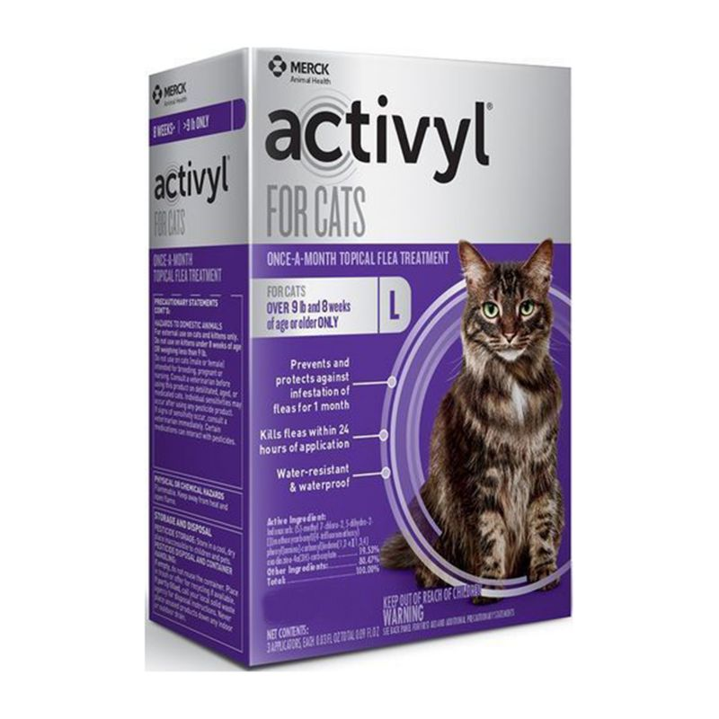 Image of Activyl for Cats Over 9lbs 6 Pack