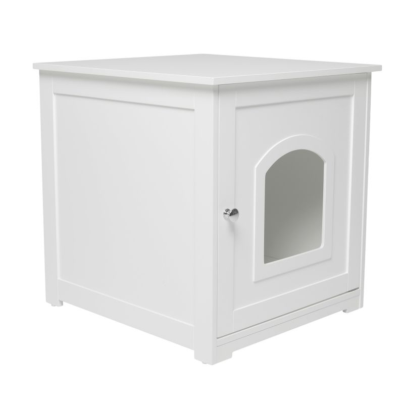 Merry Products Kitty Litter Loo White