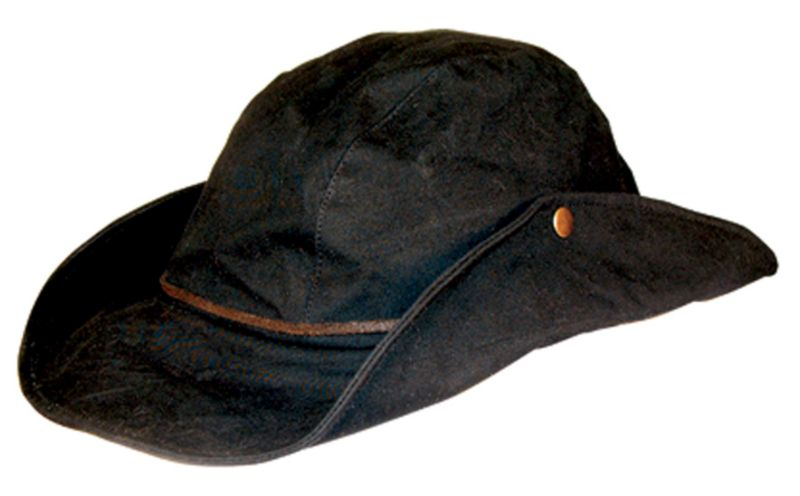 Down Under Dinkum Oilskin Hat Brown Small