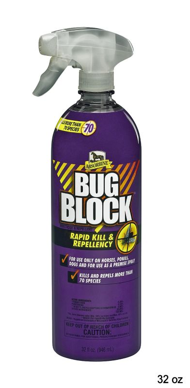 absorbine bug block 32oz on lovemypets.com
