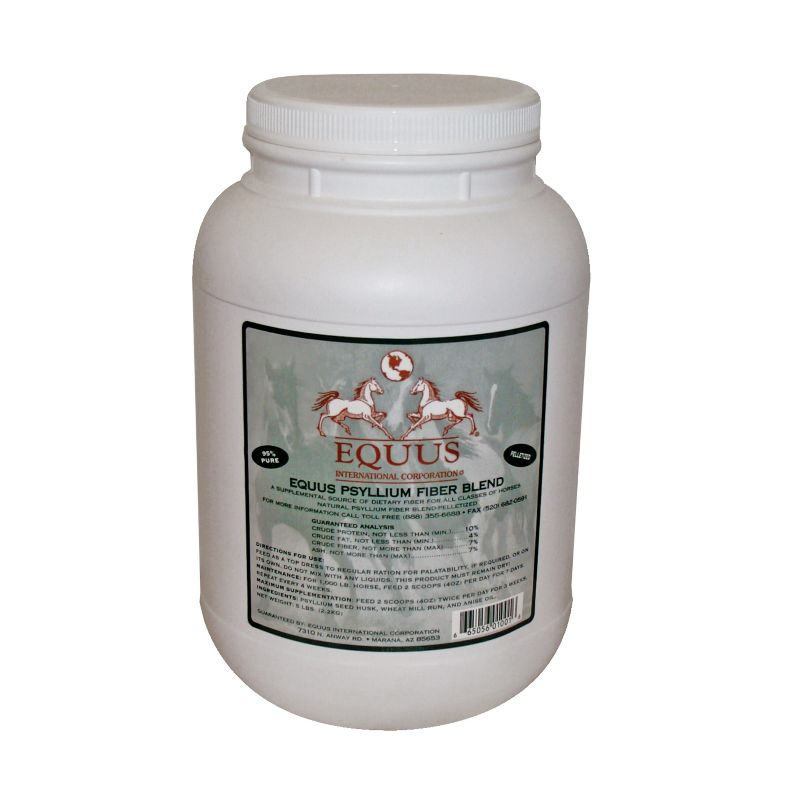 EQUUS Psyllium Pellets 5lb Best Price