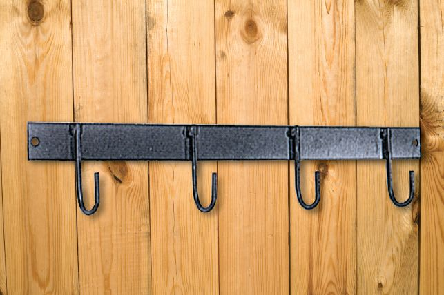 Pro-Craft 4 Hook Tack Rack Black