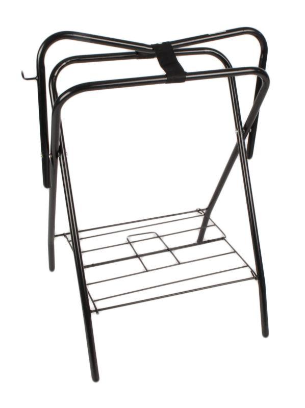 Pro-Craft Folding Saddle Stand Black