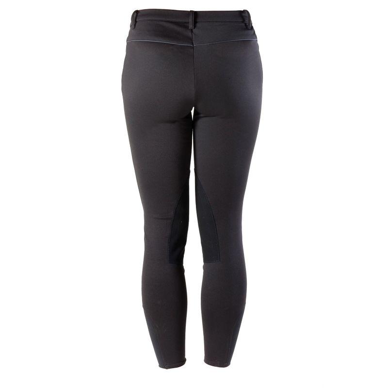 Devon-Aire Ladies Power Fleece Breeches Black