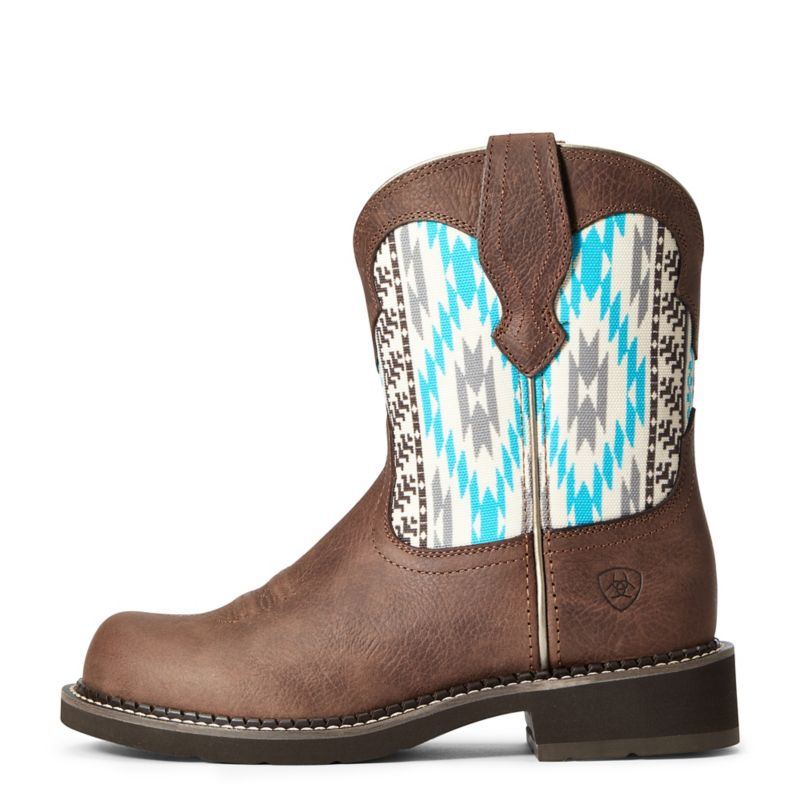 ariat ladies fatbaby boots 6  russet rebel on lovemypets.com