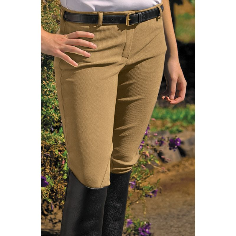 TuffRider Ladies Ribb Low Rise Breech Black