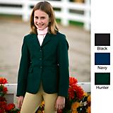 TuffRider Child Plus Size Polyester Show Coat