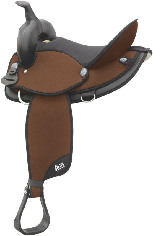 Abetta Cordura Saddle 17 Inch Wide Black
