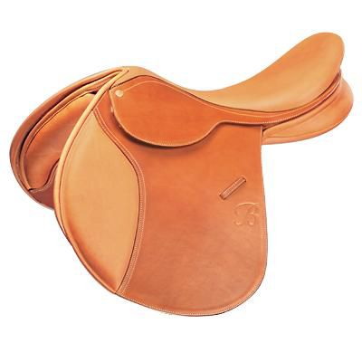 Bates Caprilli Close Contact Saddle 17.5 Reg