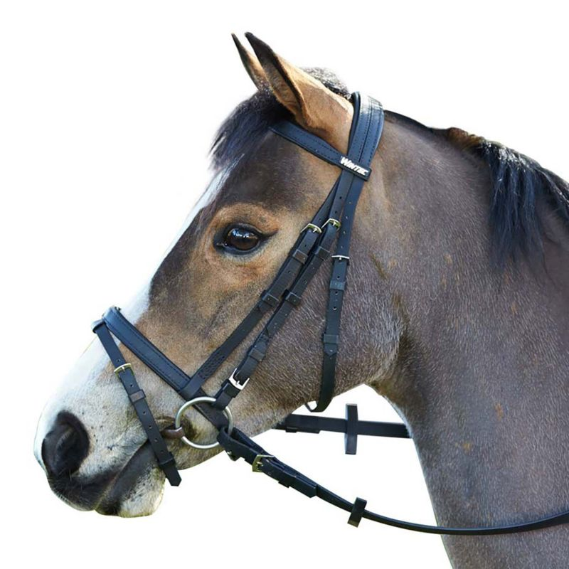 Wintec Bridle with Flash Pony Brown