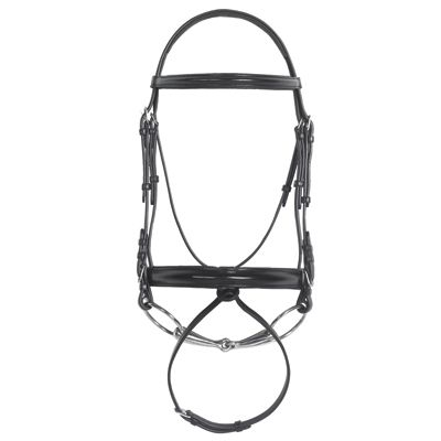 Comf Crwn Pad Dress Bridle w/Hid Flash Cob